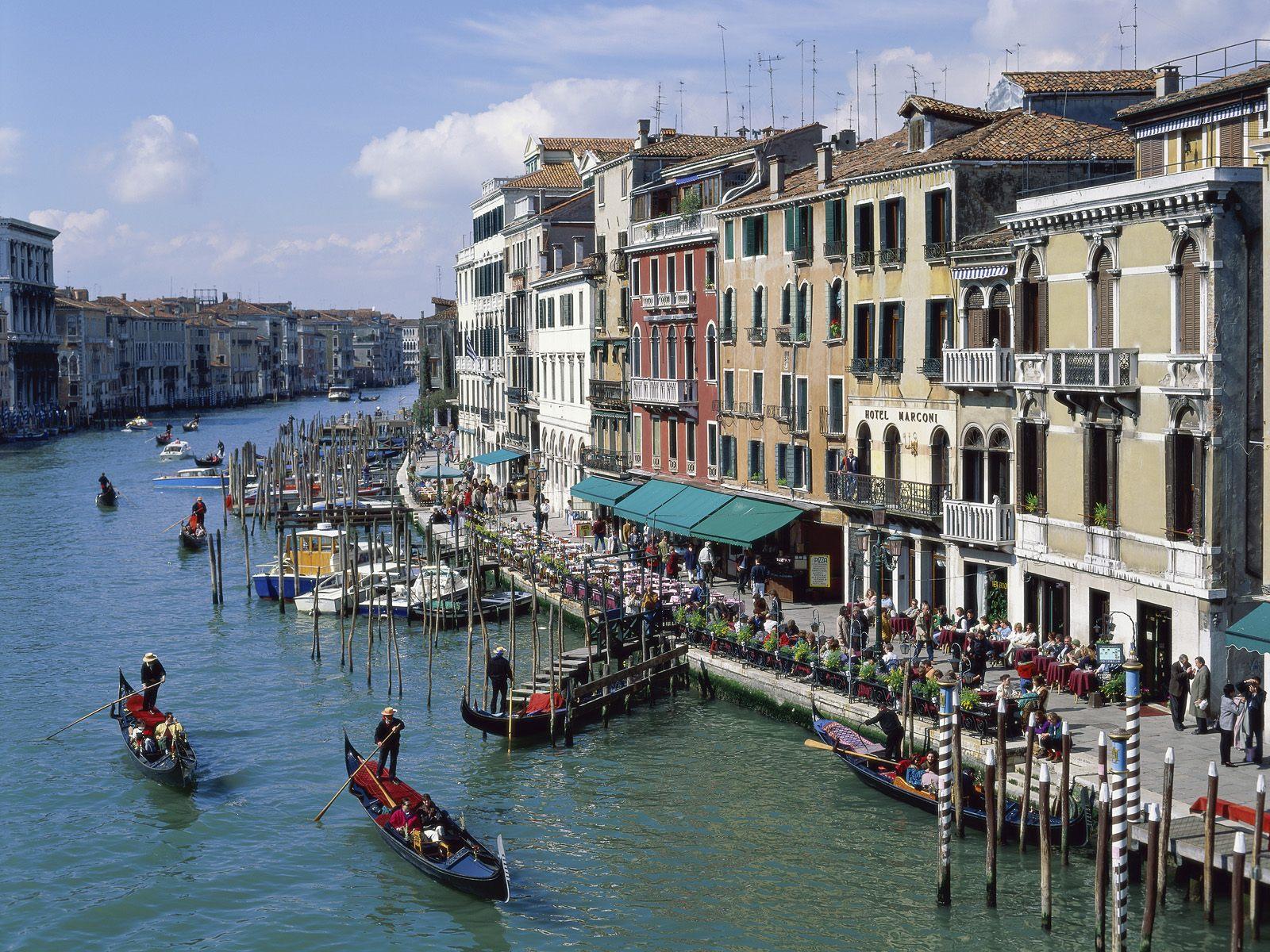 Hvor er venezia italia